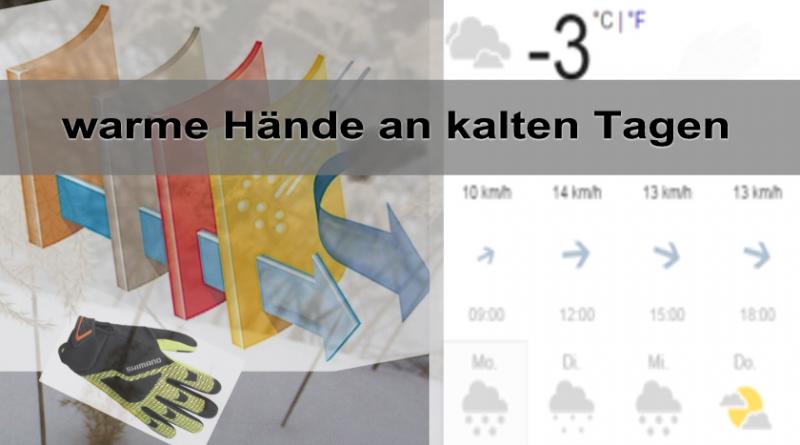 warme Hände, an kalten Tagen